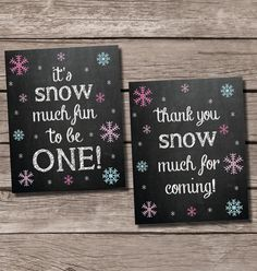 Snow much fun to be one Thank you snow much Winter by SweetfaceInk