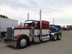 2015 75th anniversary 389long nose show truck