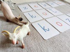 Moje Montessori Nasz DIY ruchomy alfabet