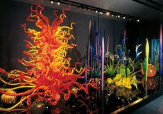 Dale Chihuly- I love this stuff.  Blown glass must be the coolest medium ever.