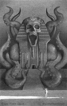 Discovering Nyarlathotep's Temple - Every Day Original