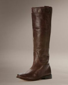 Only if I could afford these Women's Paige Tall Riding Boots - Dark Brown....  I must have these!!