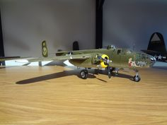 Scale model aircraft - B-25 Mitchell Bomber 1/48 scale Revell