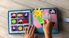 Personalized Quiet book Pikabook for boys Superman - DIY Buch Basteln Kids Crafts, Baby Crafts, Felt Crafts, Diy And Crafts, Diy Quiet Books, Baby Quiet Book, Felt Quiet Books, Quiet Book Templates, Quiet Book Patterns