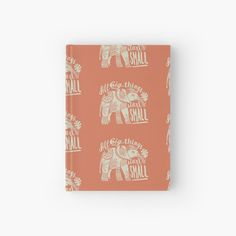 My Notebook, Journals, Elephant, My Arts, Art Prints, Printed, Words, Big, Awesome