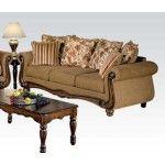 Acme Furniture - Olysseus Fabric Sofa in Brown - 50310
