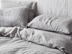 Keep things classic with our Natural French linen. Shop our beautiful range of pure French linen quilt cover available in King, Queen, Double, King Single and Single sizes and enjoy the widest range of linen colours online. Linen Bedroom, Linen Bedding, Duvet, Sheets Bedding, Bed Linens, Master Bedroom, Bedding Sets, Upstairs Bedroom, Master Suite