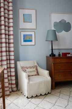 scallop slipcover