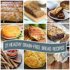 Best Low Carb Paleo Grain-Free Bread Recipes | All Day I Dream About Food