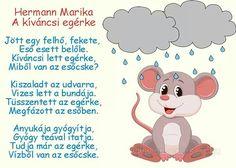Hermann Marika: A kíváncsi egérke című mesés verse Balerina, Baby Development, Stories For Kids, Toddler Activities, Animals Beautiful, Verses, Origami, Diy And Crafts, Kindergarten