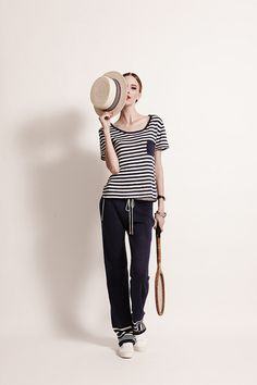 Menton Tee - Sailor   Menton Pant - Sailor   100% Linen @Banjo & Matilda @banjoandmatilda