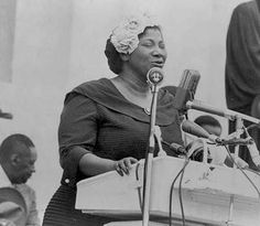 """""""Tell them about the dream, Martin! Tell them about the dream!"""" ~ Mahalia Jackson"""