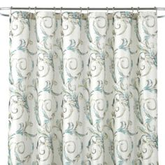 Royal VelvetR Diana Shower Curtain