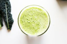 RECIPE: Pineapple & Kale Green Smoothie  http://roarfood.co.nz/blog/2013/02/28/recipe-pineapple-kale-raw-green-smoothie/