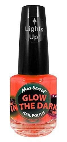 Mia Secret Glow In The Dark Neon Nail Lacquer Nail Polish GD04 Orange Pop Neon Orange *** Find out more about the great product at the image link.Note:It is affiliate link to Amazon. #likeforlike