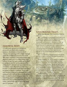 Homebrewing races DnD Homebrew Soulbound Race by Dungeons And Dragons Races, Dungeons And Dragons Classes, Dnd Dragons, Dungeons And Dragons Characters, Dungeons And Dragons Homebrew, Dnd Characters, Dnd 5e Races, D D Races, Fantasy Races