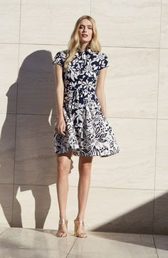 Free shipping and returns on Diane von Furstenberg Shirtdress & Accessories at Nordstrom.com.