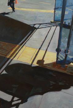 Original Cities Painting by Matthew Carter Matthew Carter, City Works, Original Paintings, Original Art, Urban Painting, Scaffolding, Realism Art, New City, City Style