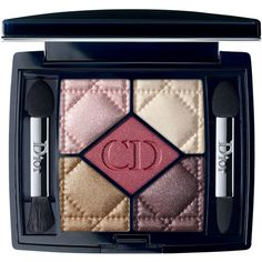 Dior Beauty 5 Couleurs Eye Shadow Palette (86 AUD) ❤ liked on Polyvore featuring beauty products, makeup, eye makeup, eyeshadow, make, iridescent eyeshadow, christian dior, matte eye shadow, matte palette eyeshadow and christian dior eyeshadow