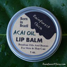 Acai Berry Oil Lip Balm – Rainforest Chica
