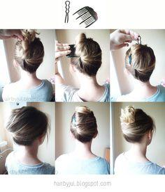 chinskie akcesoria do wlosów- fryzura krok po kroku