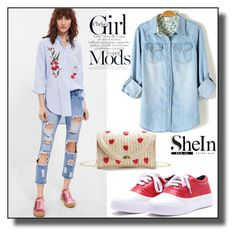 """""""SheInSide-XXII/5"""" by dzemila-c ❤ liked on Polyvore featuring Sheinside and shein"""