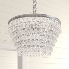 Esmeraude 6 - Light Unique / Statement Tiered LED Chandelier & Reviews | Birch Lane