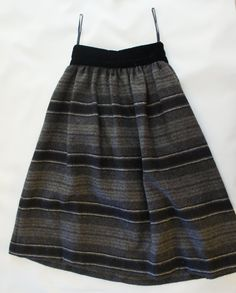 Vintage 80s Valentino Sportswear Wool  Skirt by SycamoreVintage, $35.00