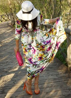Romwe Long Floral Dresses @romwe_official @official_romwe