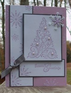 Snow_SwirledX3 by carol_PA925 - Cards and Paper Crafts at Splitcoaststampers