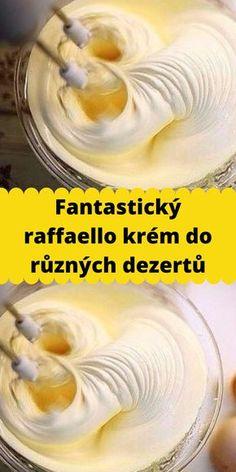 Baking Recipes, Cake Recipes, Dessert Recipes, Slovak Recipes, Torte Cake, World Recipes, No Bake Cake, Nutella, Yummy Treats