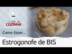 Como fazer Estrogonofe de Bis | Receita: Chef Alex Granig