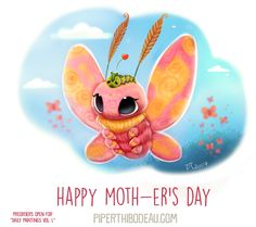 Daily+Paint+1635.+Happy+Moth-er's+Day+by+Cryptid-Creations.deviantart.com+on+@DeviantArt