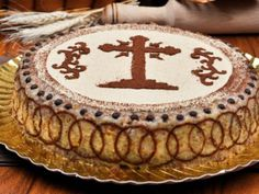 This is a special cake made only when someone beloved dies. Romanian Food, How To Make Cake, Tiramisu, Biscuit, Vegan Recipes, Food And Drink, Ethnic Recipes, Sweet, Martie