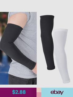 and Outdoor Activity Black Perfect Sun Protection for Sports CompressionGear Arm Sleeves for Men and Women Cooling Compression and Support Garment for Circulation and Muscle Recovery Workout