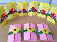 Valentine Crafts For Kids, Mothers Day Crafts, Christmas Crafts For Kids, Preschool Art Projects, Preschool Crafts, Kids Origami, Paper Flower Tutorial, Paper Crafts, Diy Crafts
