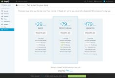 Shopify picking a plan Bar Chart, How To Plan, Ideas, Thoughts