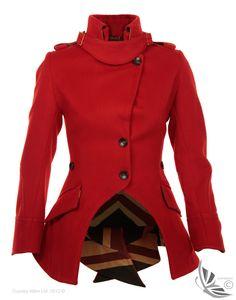 LiBErty FREEdom Sandhurst Jacket – Red | Country Attire