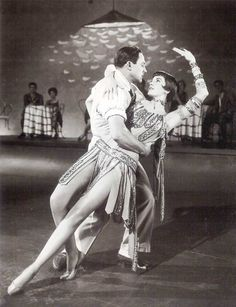 Gene Kelly and Cyd Charisse, basically making love onscreen, with clothes one. I don't believe in God, but I do worship creative geniuses. Gene is high on the list.