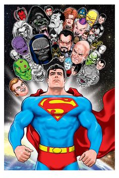 Superman & His Rogues Gallery by Kevin Maguire