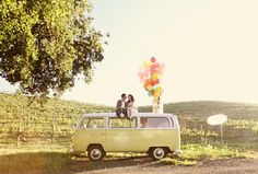 Engagement pictures inspired by Up! So cute!