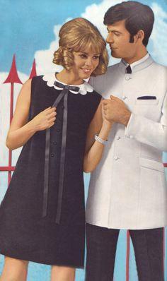 ladies' shift dress, guys' nehru jacket