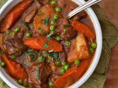 Guinness Lamb Stew with Vegetables- didn't use flour  (used nonGMA corn starch) didn't add sugar- it was delish!