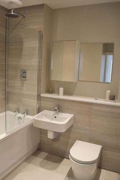 99 Small Master Bathroom Makeover Ideas on a Budget - Small Half Bathrooms, Very Small Bathroom, Tiny Bathrooms, Simple Bathroom, Master Bathroom, Bathroom Ideas, Washroom, Bathroom Inspo, Bathroom Color Schemes