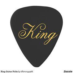 King Guitar Picks