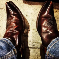 leather — Sendra boots
