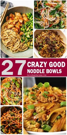 Noodle Bowl Recipes To Vary Your Meal – Healthy Food: Recipes, food and diet, weight loss