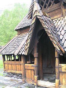 Stavkirke - Wikipedia, den frie encyklopædi