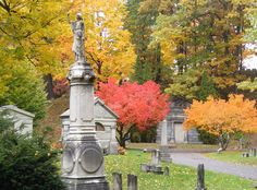 Mount Hope Cemetery Rochester NY  a lot of history here