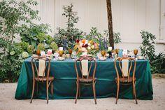 La Tavola Fine Linen Rental: Dupionique Parsley with Dupionique Iridescence Platinum Napkins | Photography: Mollie Crutcher Photography, Event Planning & Design: Selena Marie Weddings & Events, Floral Design: La Fleur Du Jour